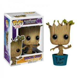 Dancing Funko Pop Marvel Groot movies