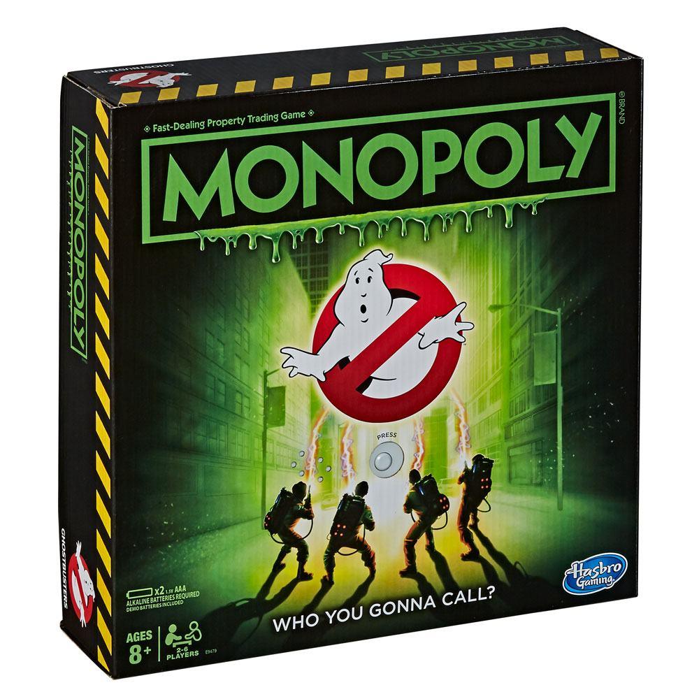 Ghostbusters bordspel Monopoly Movies