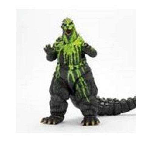 Godzilla Head to tail action figure 1989 Biollante Bile movies