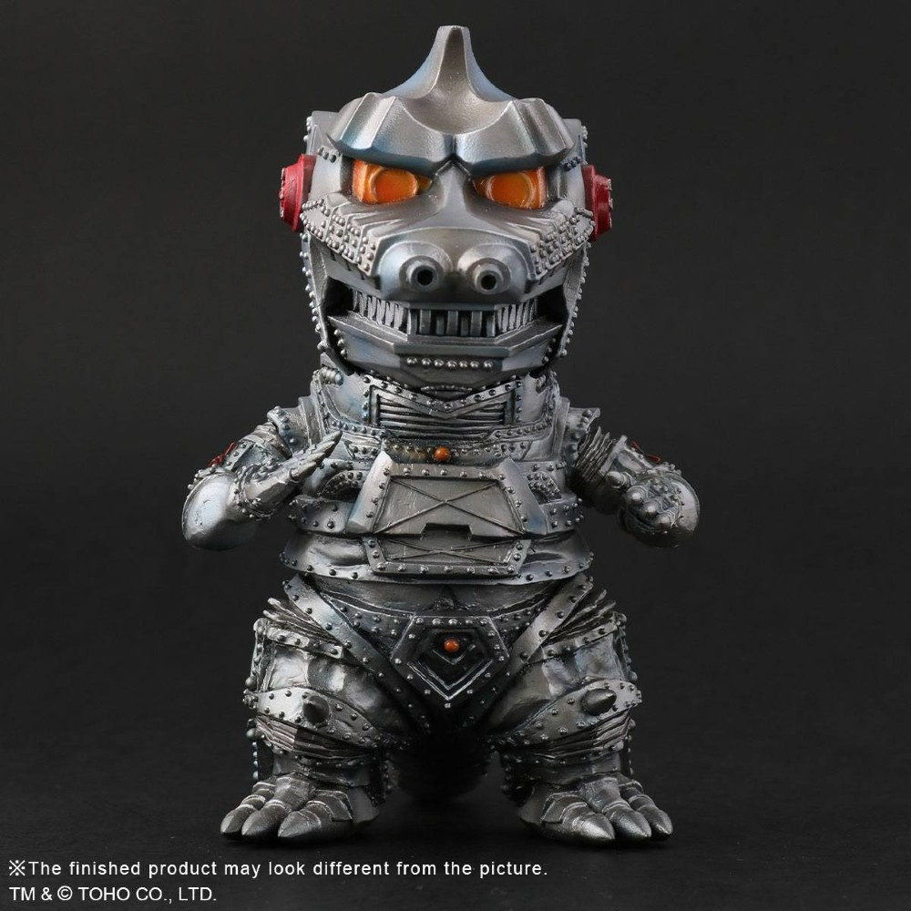 Godzilla Mechagodzilla Defo-real series PVC statue movies