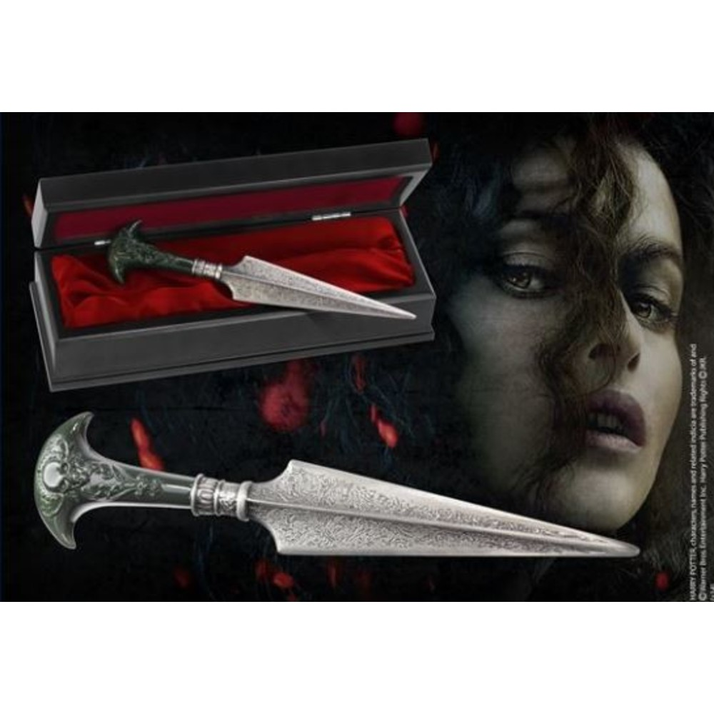 Harry Potter Lestrange Bellatrix Dagger The Noble Collection replica