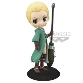 Harry Potter Q Posket Mini figure Draco Malfoy Quidditch Style version B movies
