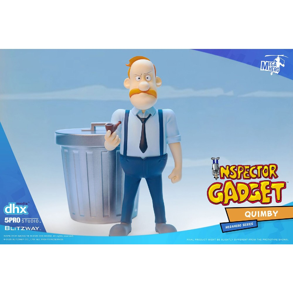 Inspector Gadget Mega Hero action figure Quimby 1/12 series
