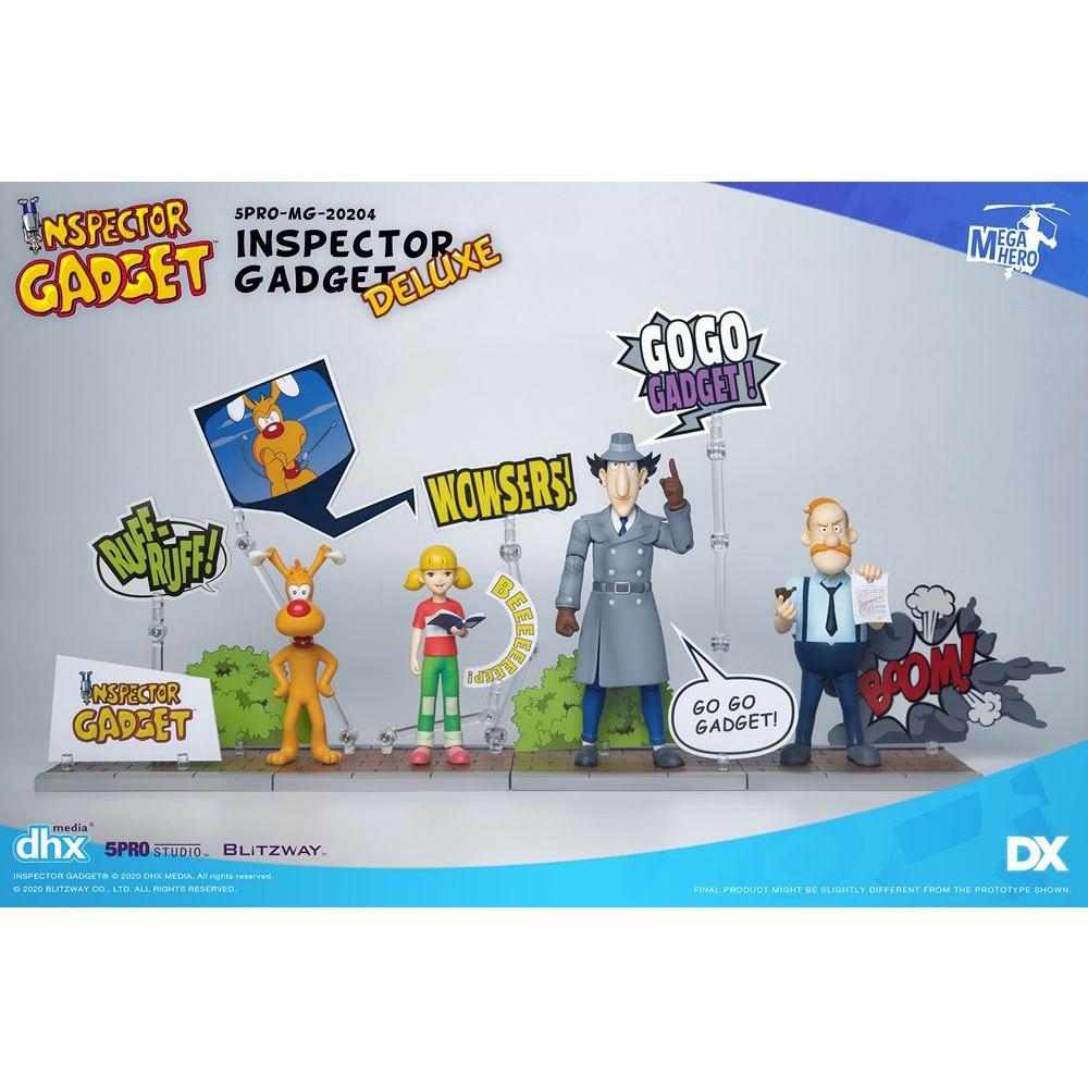 Inspector Gadget Mega Hero Action figures Inspector Gadget