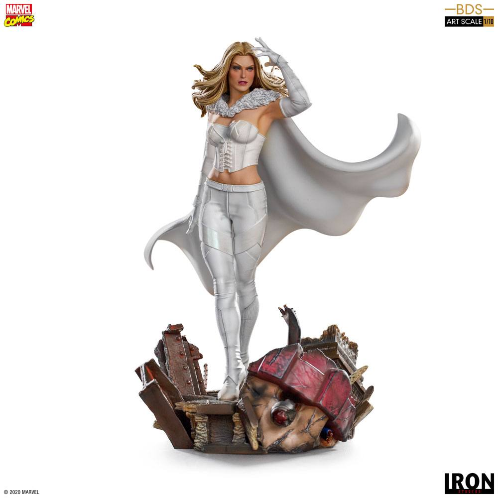 Emma Frost Marvel Comics BDS Art Scale statue Iron Studios