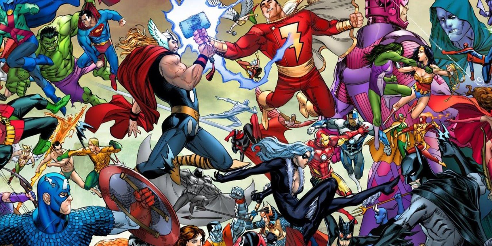 Marvel DC Comics blog kopiëren