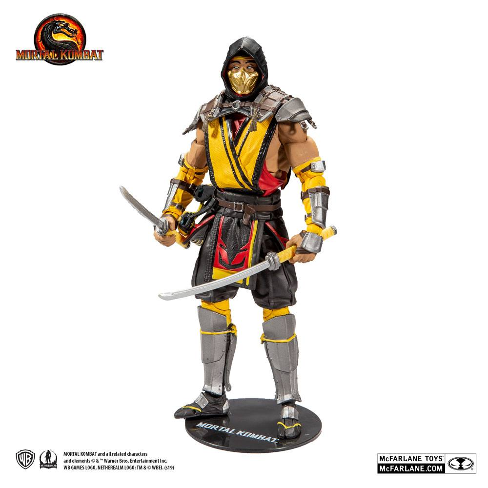 Mortal Kombat 11 action figure Scorpion games