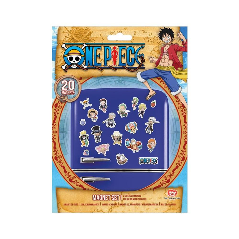 One Piece series frigo Magneten