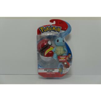 Squirtle Action set knuffel Pokémon Nintendo