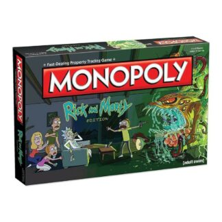 Rick and Morty bordspel Monopoly Series Hasbro