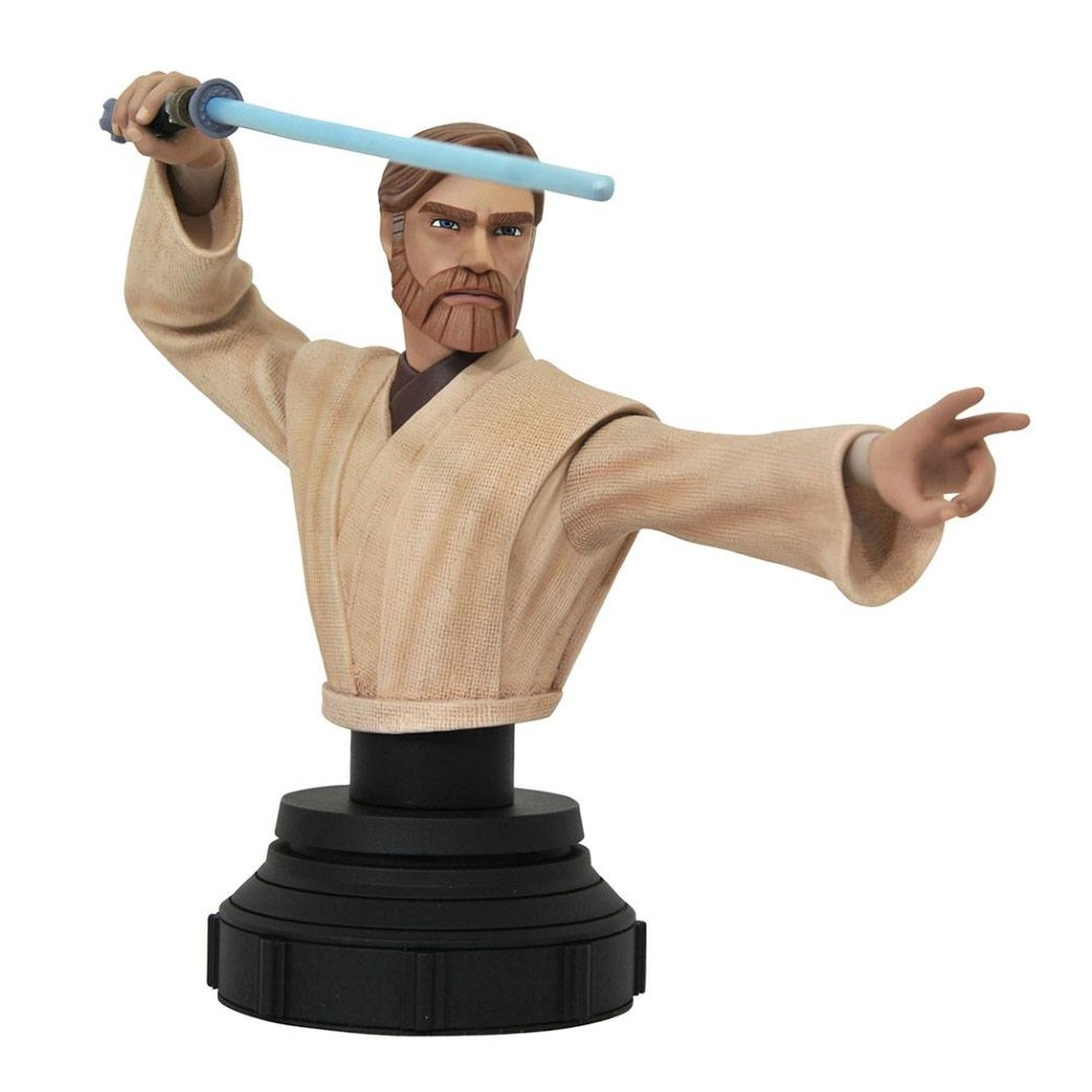 Star Wars The Clone Wars Bust Obi-Wan Kenobi movies