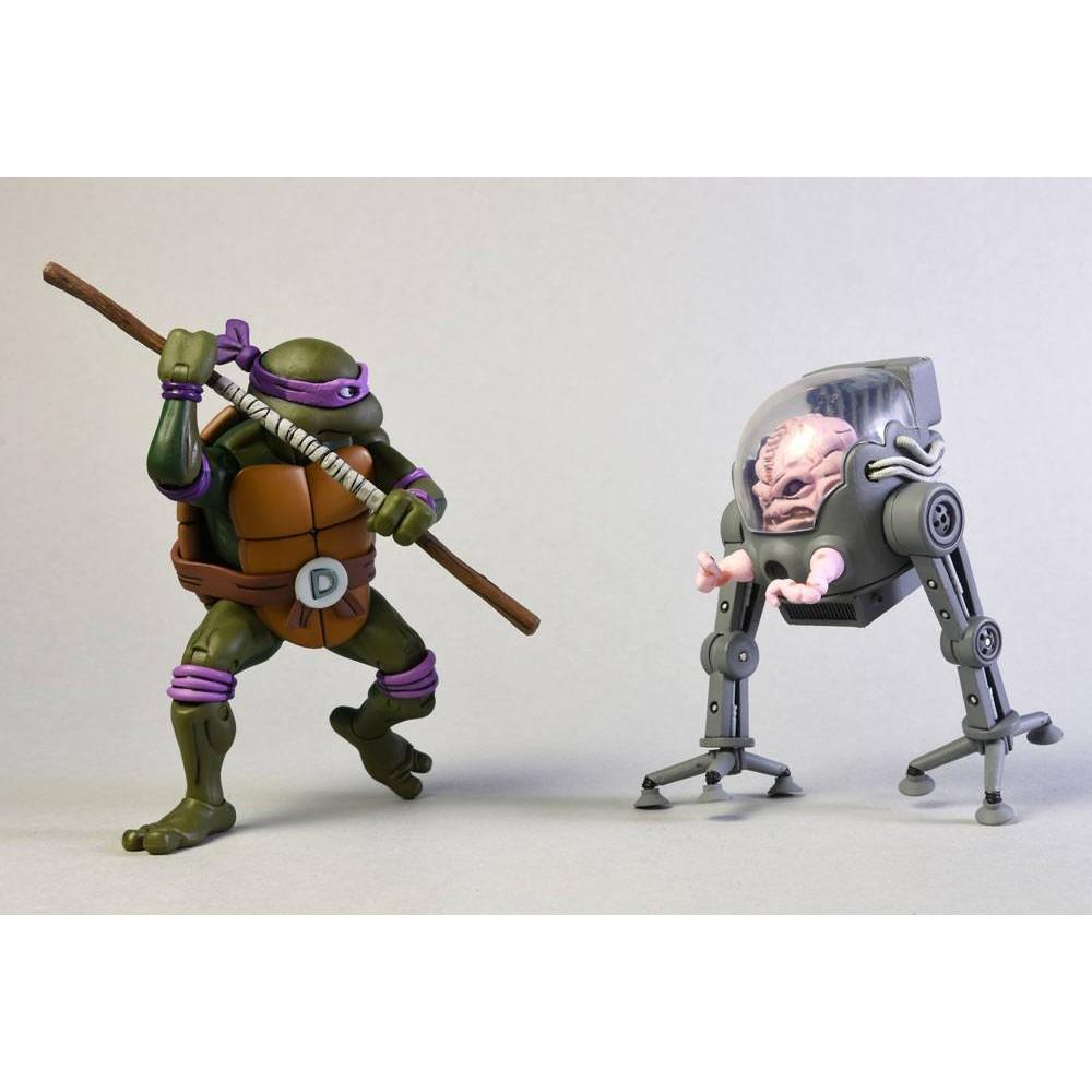 Teenage Mutant Ninja Turtles Action figure Donatello Krang in Bubble Walker