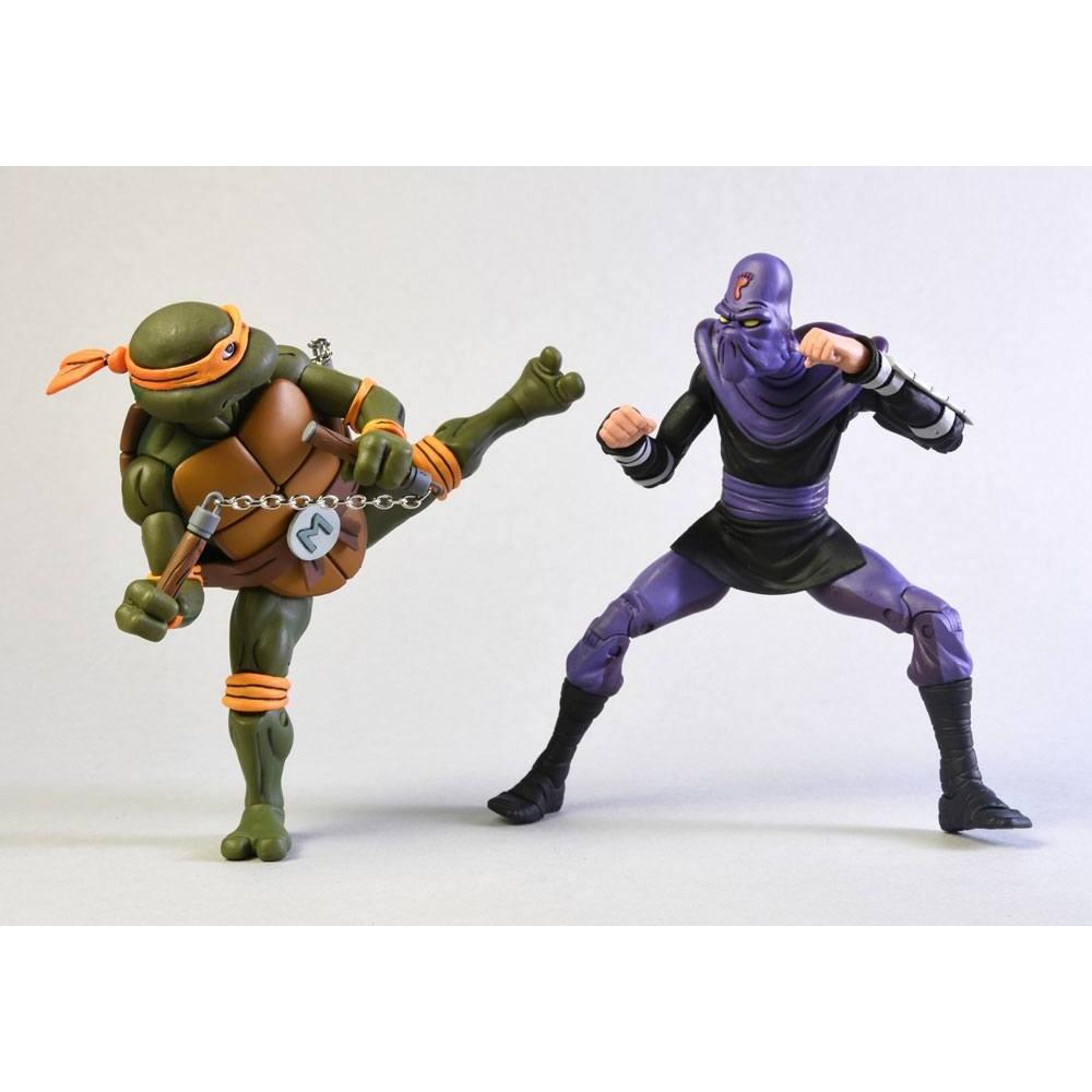 Teenage Mutant Ninja Turtles Michelangelo Foot Soldier series