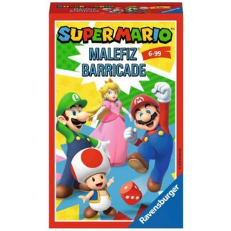 Super Mario bordspel barricade ravensburger nintendo bordspel