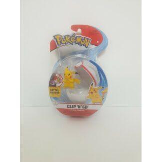"Pokéball Pikachu Nintendo Pokéball Clip ""N"" Go"