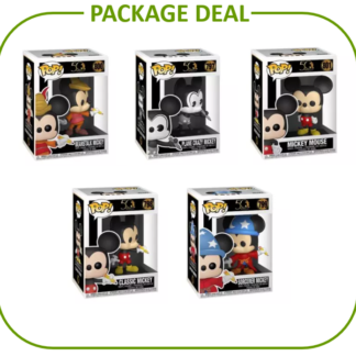 Mickey Mouse Package Deal Disney Funko Pop Archives