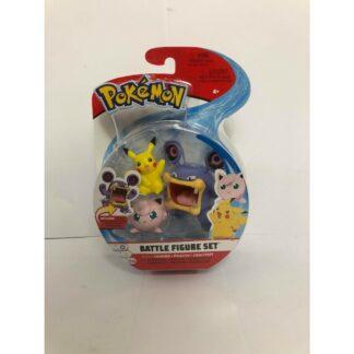 Pokémon Battle mini figures Nintendo Pikachu Loudred Jigglypuff