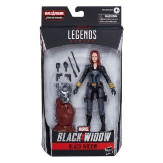 Black Widow action figure Marvel Legends series Movie