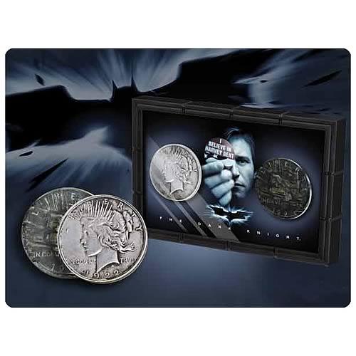 DC Comics - Batman Dark Knight Harvey Dent and Two-Face Coins