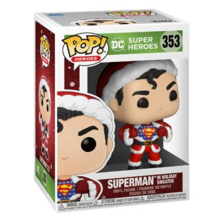 DC Comics Superman Holiday Sweater Funko Pop