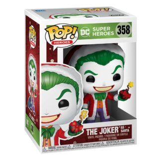 DC ComicHoliday Santa Joker Funko Pop