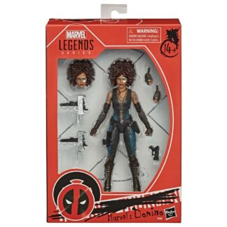 Deadpool Marvel Legends Domino Action figure Hasbro