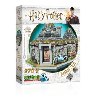 Harry Potter 3D Puzzel Hagrids Hut movies