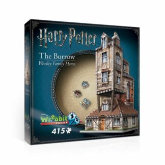 Harry Potter 3d Puzzel The Burrow Weasley Family Home