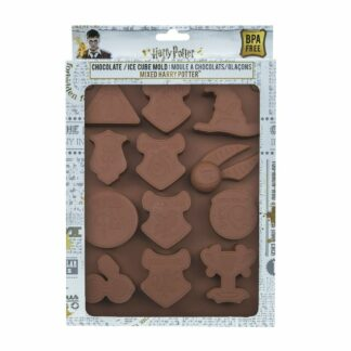 Harry Potter Chocolate Ice Cube Mold Logos