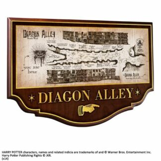 Harry Potter diagon alley wall plaque movies