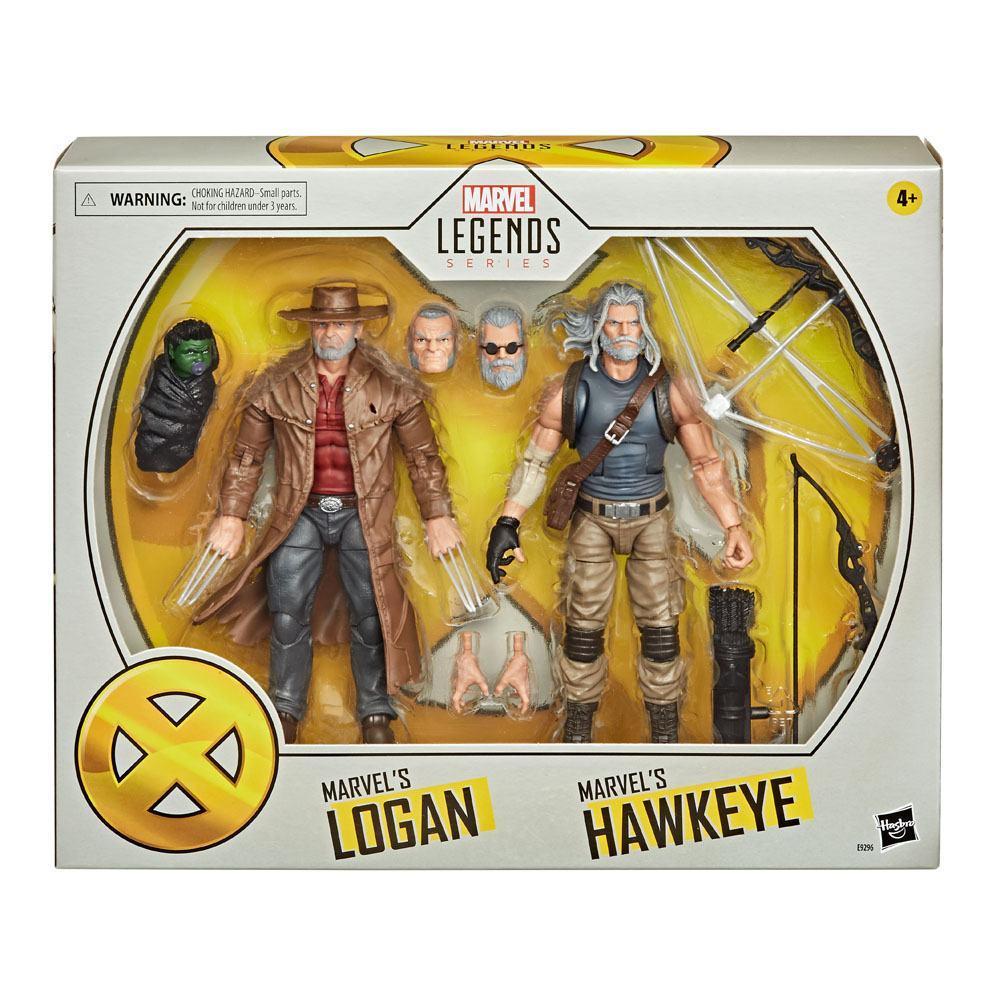 Marvel - Legends Action Figure 2-Pack 2020 Old Men Logan & Hawkeye 15 cm