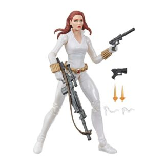 Marvel Legends Black Widow White Suit Deadly Origin Action figure movies