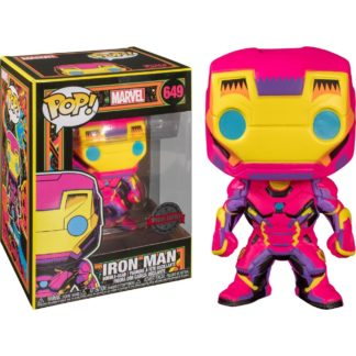 Marvel Funko Pop Black Light Iron Man