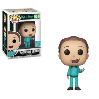 Rick and Morty Animation Vinyl Figure Tracksuit Jerry SDCC Exclusive