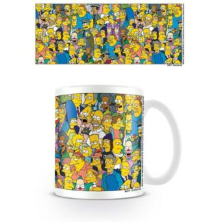 Simpsons mok personages series