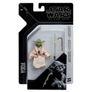 Star Wars black series action figure archive Yoda Movies Hasbro