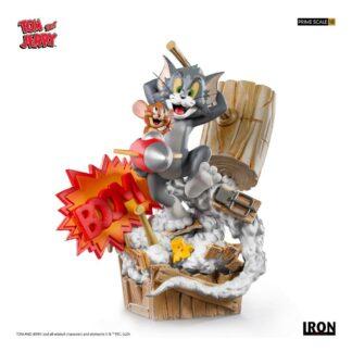 Tom Jerry series Hanna Barbera Iron Studios Prime Scale Statue