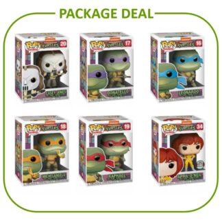 Teenage Mutant Ninja Turtles Package Deal Funko pop series