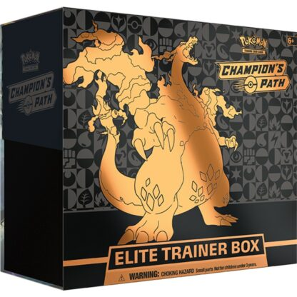 Pokémon Elite Trainer Box Champion's Path Trading Card Company