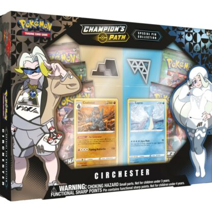 POkémon Trading Card Company Pin Collection Cinchester Champion's Path