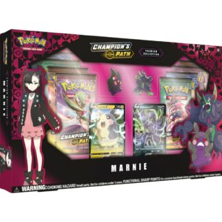 Pokémon trading card company Marnie Champion's Path Special Collection