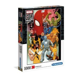Marvel 80th anniversary puzzel characters 1000 pcs