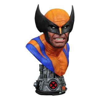 Marvel legends comics 3D bust 1/2 Wolverine X-Men