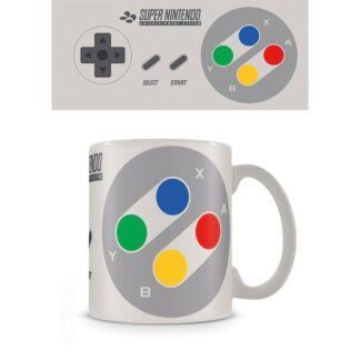 Nintendo Mug SNES Controller mok Games