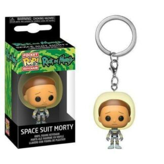 Rick & Morty pocket pop space suit Morty sleutelhanger series Funko