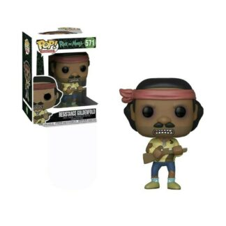 Rick And Morty Funko Pop Resistance Goldenfold