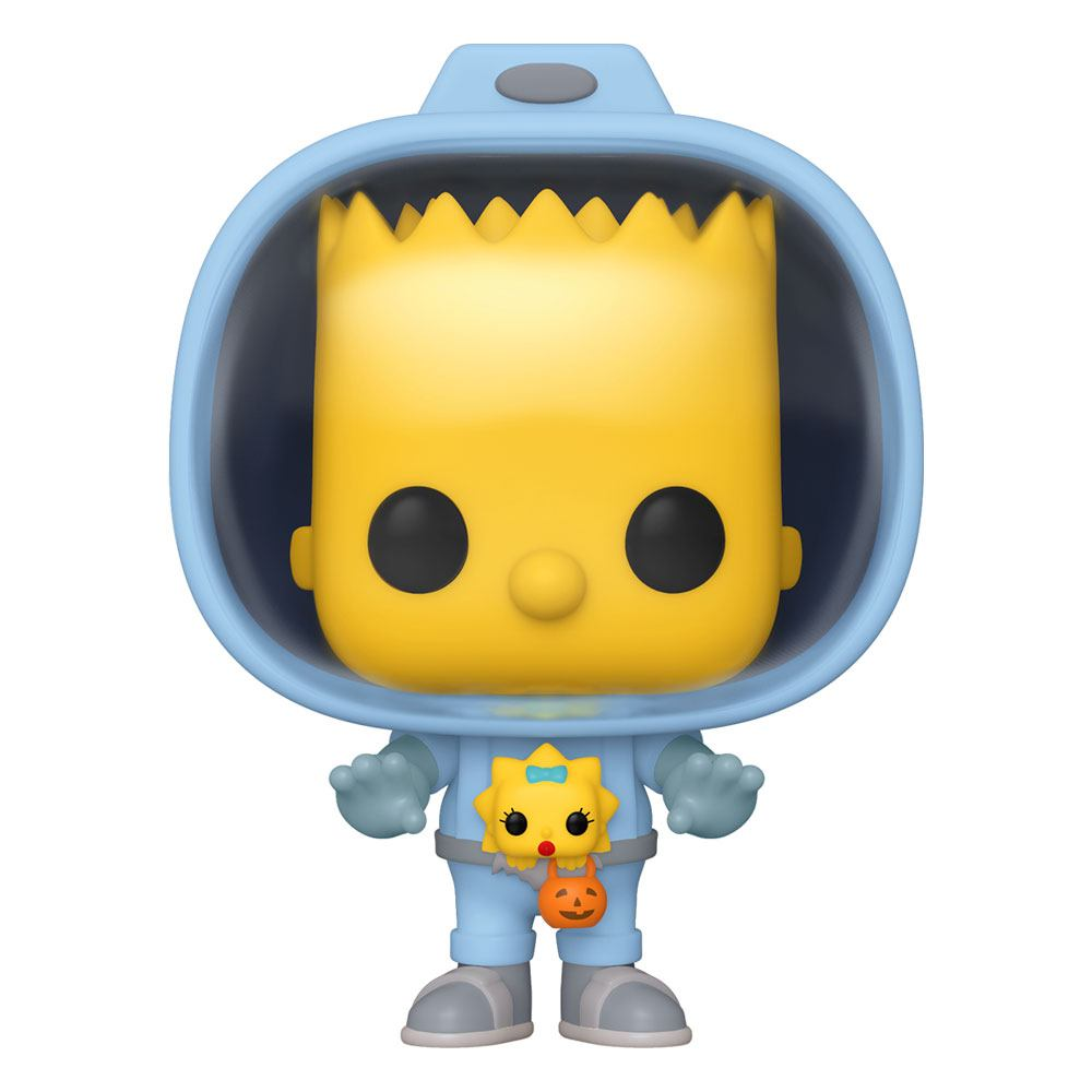 The Simpsons - Funko Pop Bart with Chestburster Maggie 9 cm