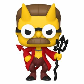 The Simpsons Devil Flanders Funko Pop series