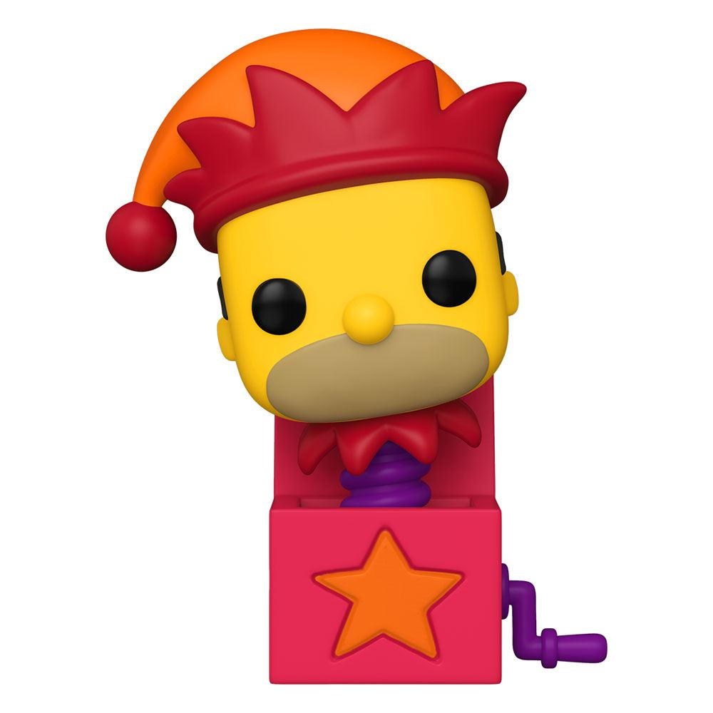 The Simpsons - Funko Pop Homer Jack-In-The-Box 9 cm