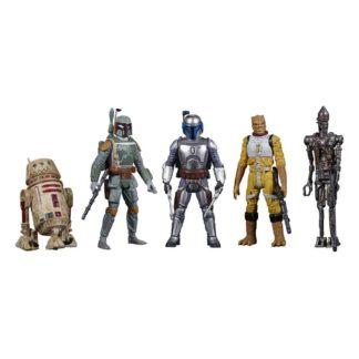 Star Wars Celebrate Saga action figure pack bounty hunters movies
